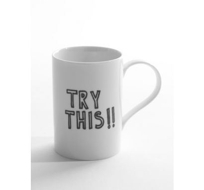 "Tazza ""Try This"""