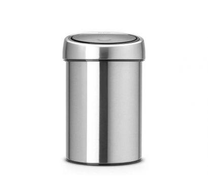 Touch Bin - Waste Bin - Matt Steel FingerPrint Proof