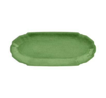 Touch Mel - York Vassoio Verde L. 47 cm - P. 19 cm
