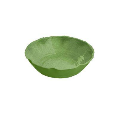 Touch Mel - York Piatto Fondo Verde Set da 2 pz Ø 19 cm