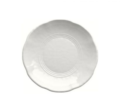 Touch Mel - York Piatto Fondo Bianco Set da 2 pz Ø 19 cm