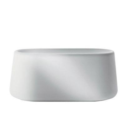 Tubby 3 White Vase