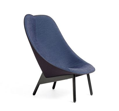 Uchiwa Lounge Chair - Fabric Harald/Rime