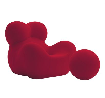 Up 5_6 Armchair and Pouf