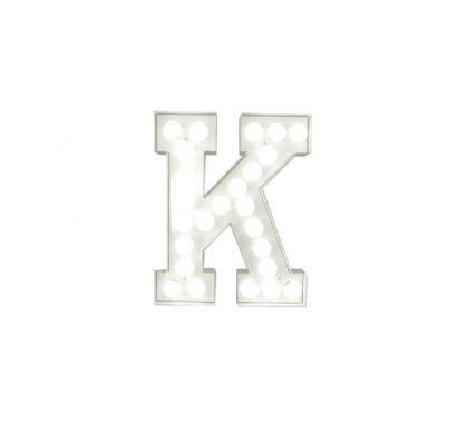 Vegaz Lettera Luminosa - K