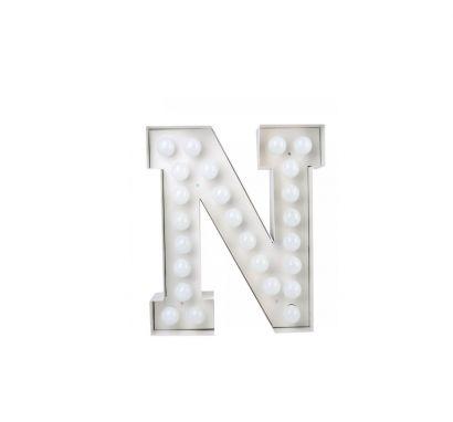 Vegaz Lettera Luminosa - N