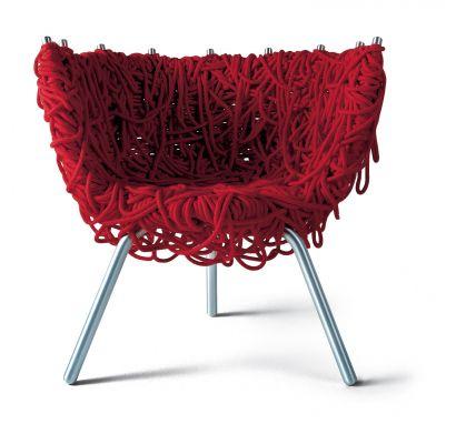 vermelha chair edra