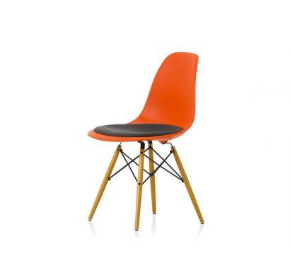 Eames Plastic Chair DSW - Sedia con Cuscino Hopsak