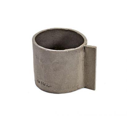 Tazza in Cemento D10 H9 Manico 3 cm