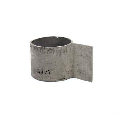 Tazza in Cemento D10 H9 Manico 6 cm