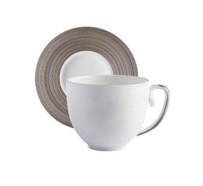 Hémisphère Platinum Tazzina Espresso con Piattino Ø 11,5 cm