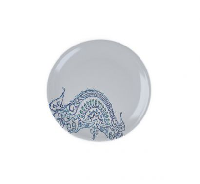 The White Snow Luminarie Flat Plate Ø 27,5 cm