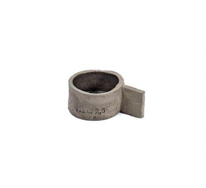 Tazza in Cemento D6 H3 Manico 3 cm