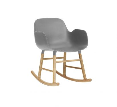Form Full Upholstery Rocking Armchair
