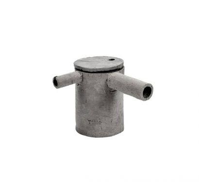 Teiera in Cemento 4 D10 H15 Manico 10 cm