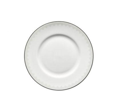Jade Rendezvous Plate with Rim Ø 23 cm