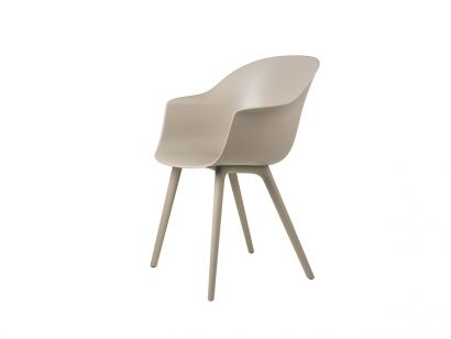 Bat Unupholstered Chair Outdoor - Plastic Base