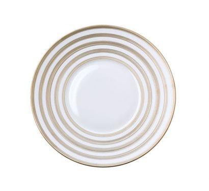 Hémisphère Platinum Stripe Piatto Ø 26,5 cm