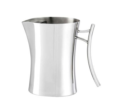 Bamboo Home Bar Water Pitcher with Ice Guard Ø 10 cm - H. 20 cm