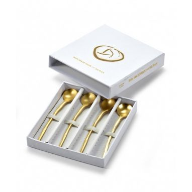 Perfect Imperfection Cutlery Set in Giftbox Gold