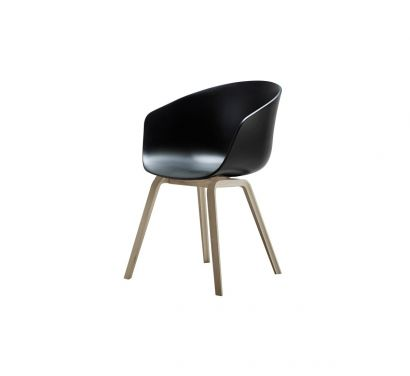 About a Chair AAC22 Nero/Rovere
