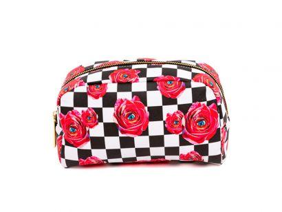 Rose Cosmetic Bag - L. 23 cm - P. 8 cm - H. 13 cm