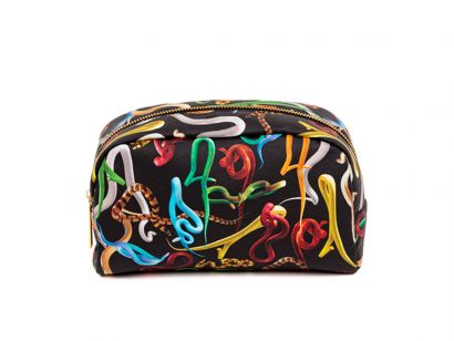 Snakes Cosmetic Bag - L. 23 cm - P. 8 cm - H. 13 cm