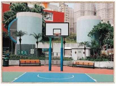 Cities of Basketball (Hong Kong)  Print