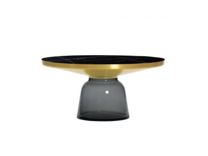 Bell Coffee Table Marble Marquina Classicon