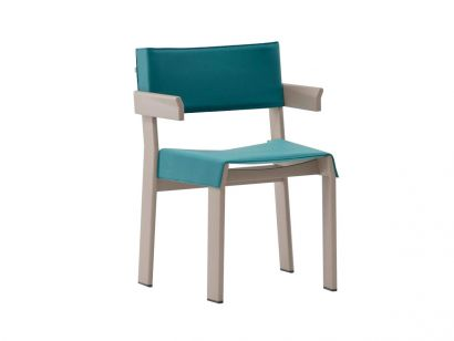 Band Armchair - Aluminium