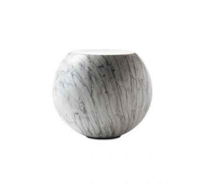 Bong Coffee Table - White Carrara Marble