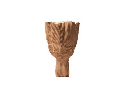 Tulipano Bowl - Cartoccio Ø 25 cm B18 Walnut