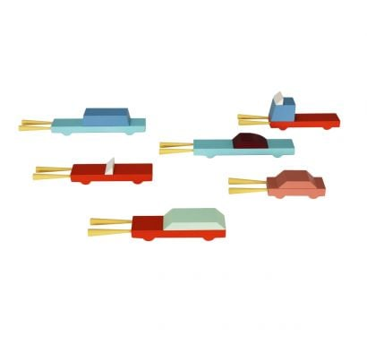 Car Stool - Set Blocks