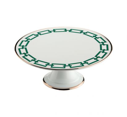 Catene Smeraldo Cake Stand Ø 26 cm - H. 10 cm