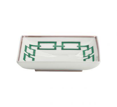 Catene Smeraldo Squared Bowl L. 13,5 cm