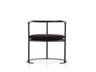 Catilina Chair Azucena by Luigi Caccia Dominioni