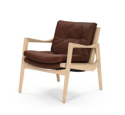 Euvira Lounge Chair Cuir