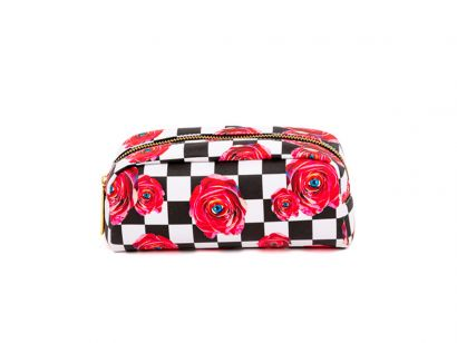 Rose Clutch Bag- L. 20,5 cm - P. 7 cm - H. 9 cm