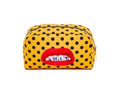 Shit Cosmetic Bag - L. 23 cm - P. 8 cm - H. 13 cm