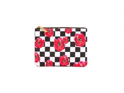 Rose Beauty Case - L. 21 cm - H. 15,5 cm