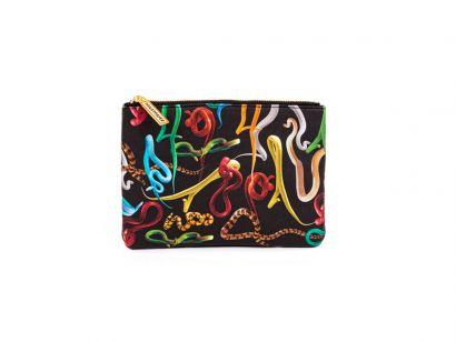 Snakes Beauty Case - L. 21 cm - H. 15,5 cm