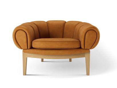 Croissant Lounge Chair Gubi by Illum Wikkelsø