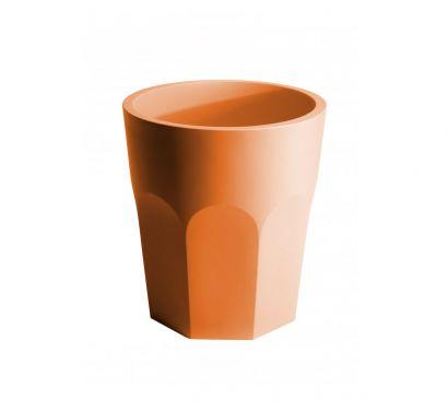 Cubalibre - Vaso in plastica opaco - arancio