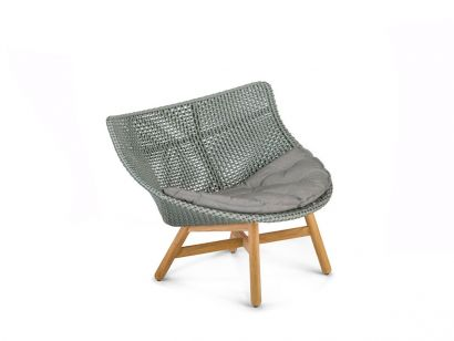 Mbrace Lounge Chair - Baltic 141 / Twist Dark Turquoise