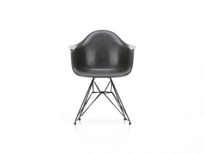 Eames Fiberglass Armchair DAR - Basic Dark Base