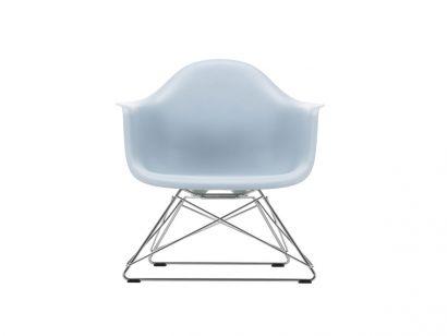 Eames Plastic Fauteuil LAR - Base Chrome