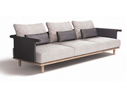 Eden 3-seater Sofa - Upholstery Park K08 White