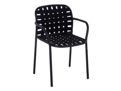 Yard 501 Armchair - Black