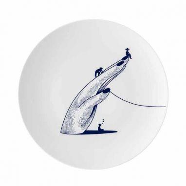 Far, Far, Closer Plate L 26 cm