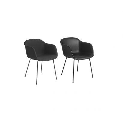Fiber chaise revêtue